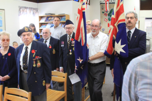 Recognizing ANZAC Day is an important annual event  for the Downunder Club of Winnipeg. Photo: Brian Hydesmith