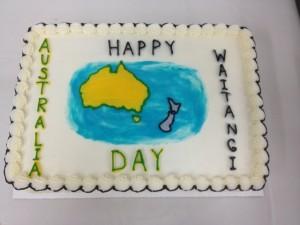 aus day cake