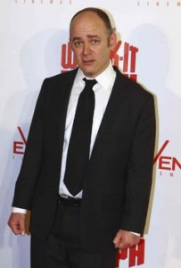 American actor and comedian Todd Barry (Rick Rycroft, The Associated Press Files)