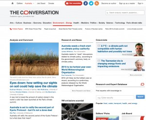 Environment + Energy – Views & Research – The Conversation