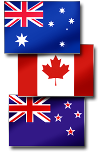 aus can nz flags
