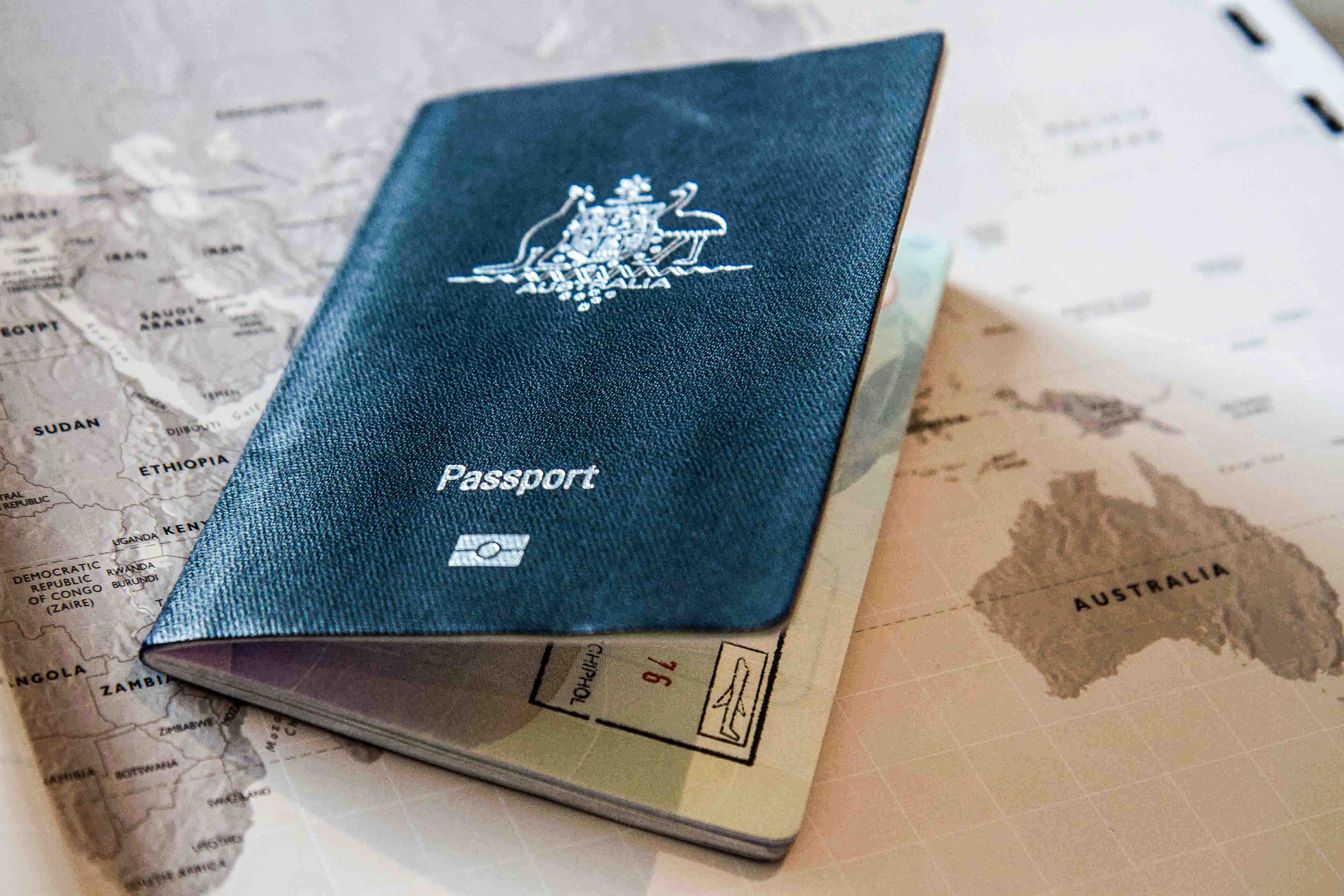 Australian Highmission Ising To Town Down Under Club Of How To Apply For A Passport  How